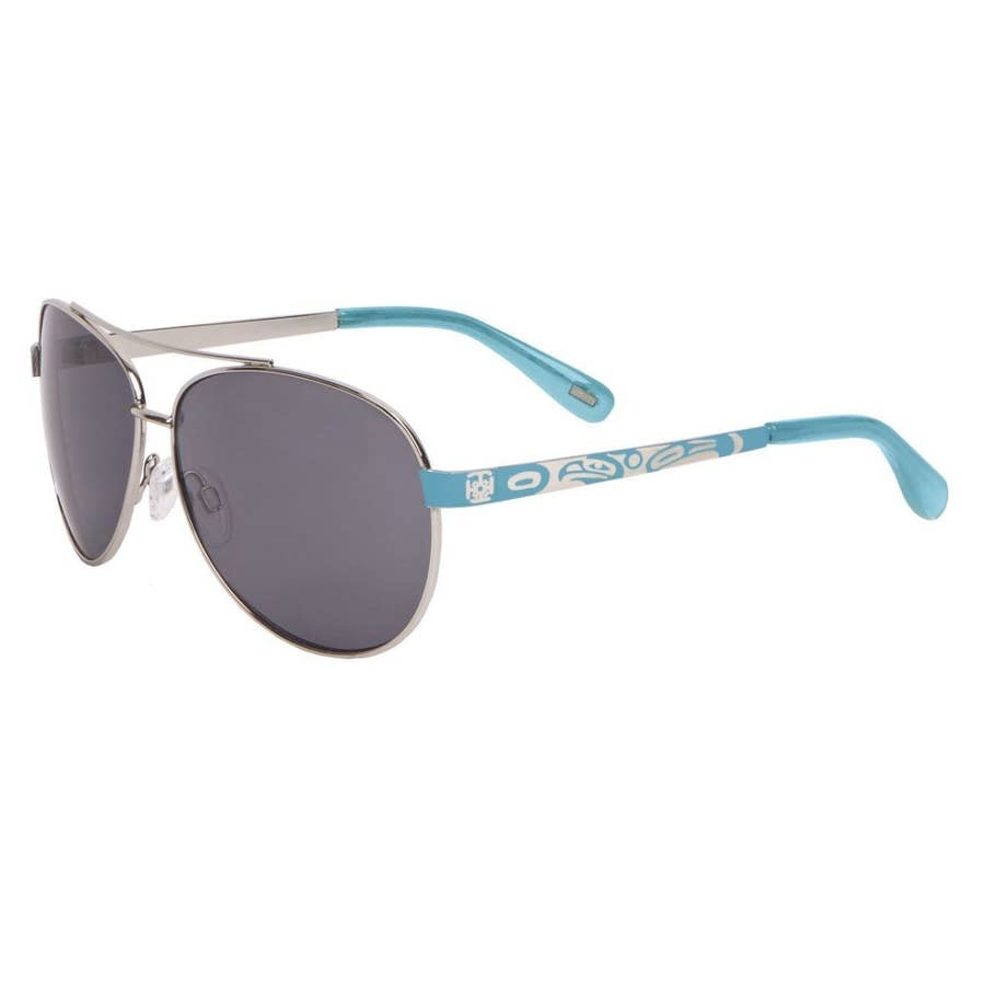 "AYA Eyewear ""Victoria"" Turquise Sunglasses - AYA"