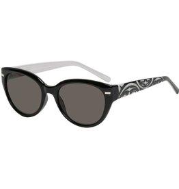 """AYA Eyewear """"Soleil"""" Black & Silver Sunglasses - AYA"""