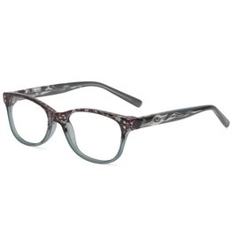 "AYA Eyewear ""Amy"" Grey Reading Glasses"