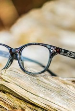 "AYA Eyewear ""Amy"" Grey Reading Glasses"