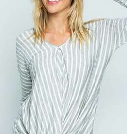 Twenty Second Twenty second stripe casual top
