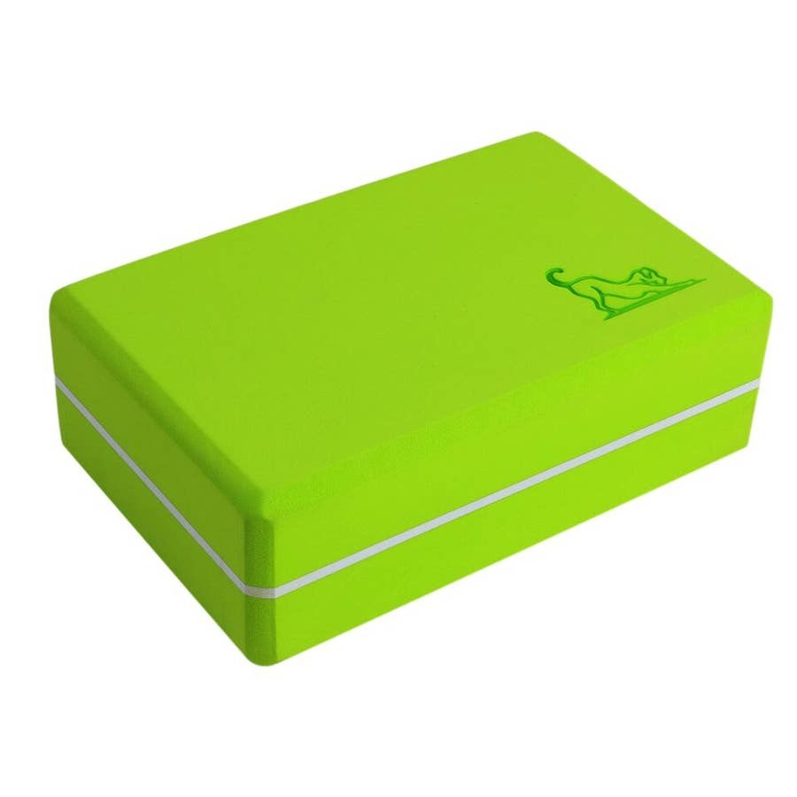 mantra block Mantra dog Green yoga block