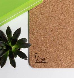 Mantra Dog Mantra Dog Natural Cork Mat