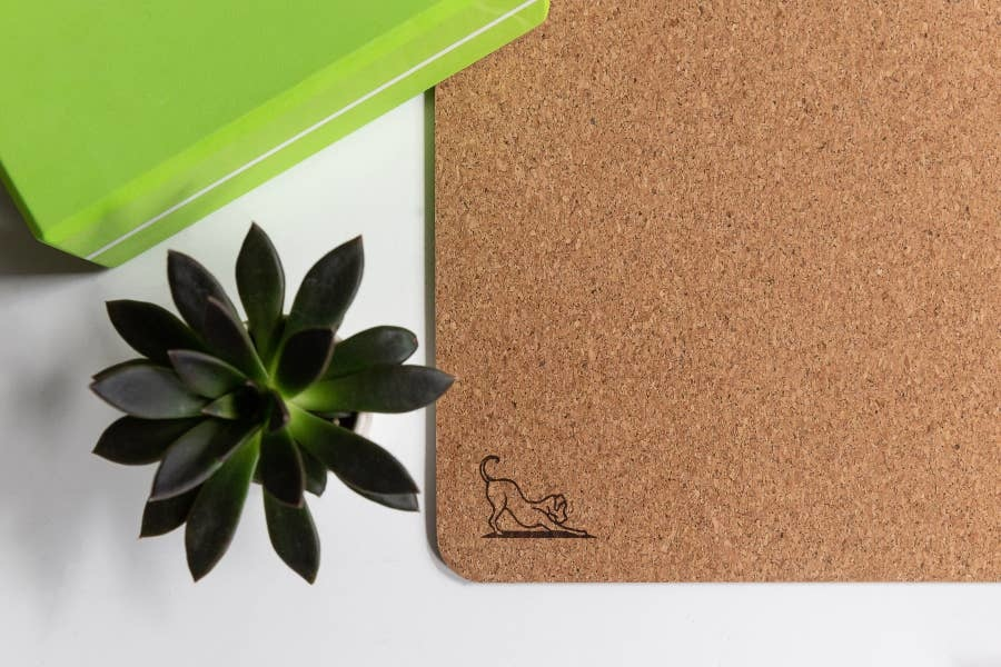 mantra block Mantra Dog Natural Cork Mat