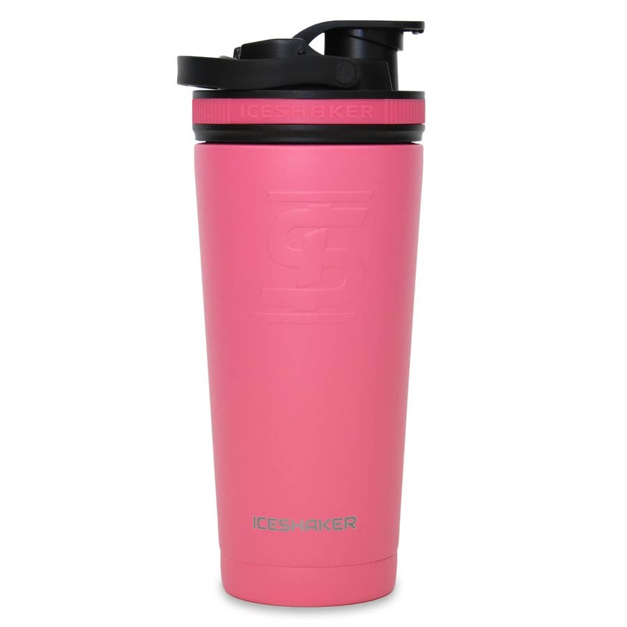 Ice Shaker IS 26 OZ PINK SHAKER BOTTLE