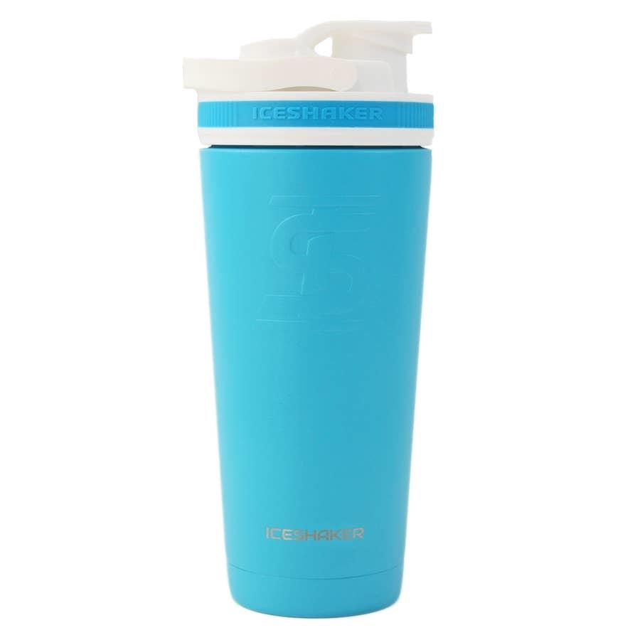 Ice Shaker IS 26 OZ CARRIBEAN BLUE SHAKER BOTTLE