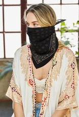 Westbound Clothing Company vintage western bandana black