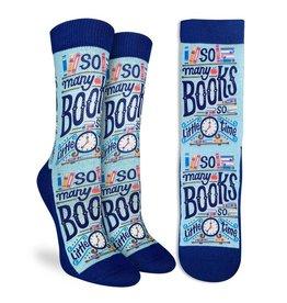good luck socks gl ladies somany books so little time