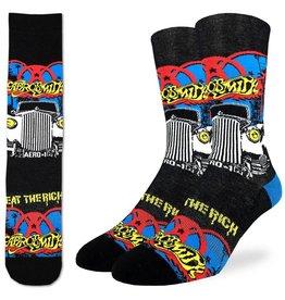 good luck socks gl aerosmith eat the rich