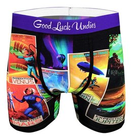 good luck socks gl mens space tourism underwear