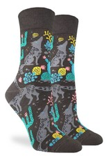 gl womens wolf socks