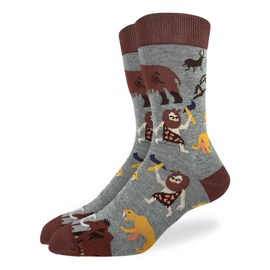 mens caveman socks