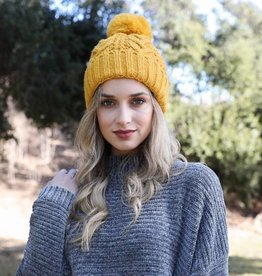Westbound Clothing Company cable knit lined toque