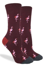 Good Luck Sock Pink Flamingo Party GLS