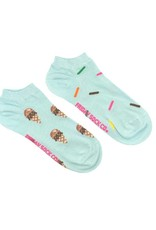 Friday Sock Company icecream and sprinkles ladies crew sock
