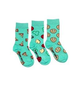 Friday Sock Company Pizza Socks, Kids Size 8-12, Friday