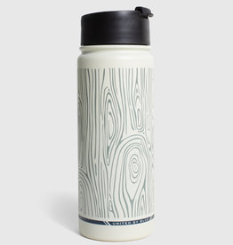 United By Blue Woodgrain, 18 oz, Travel Bottle
