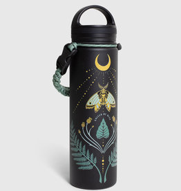 United By Blue Lunar Moth, 22 oz, Stainless Steel Bottle