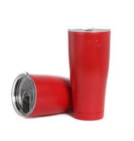 SIC 30 oz Matte Gameday Red Tumbler, Stainless Steel, SIC