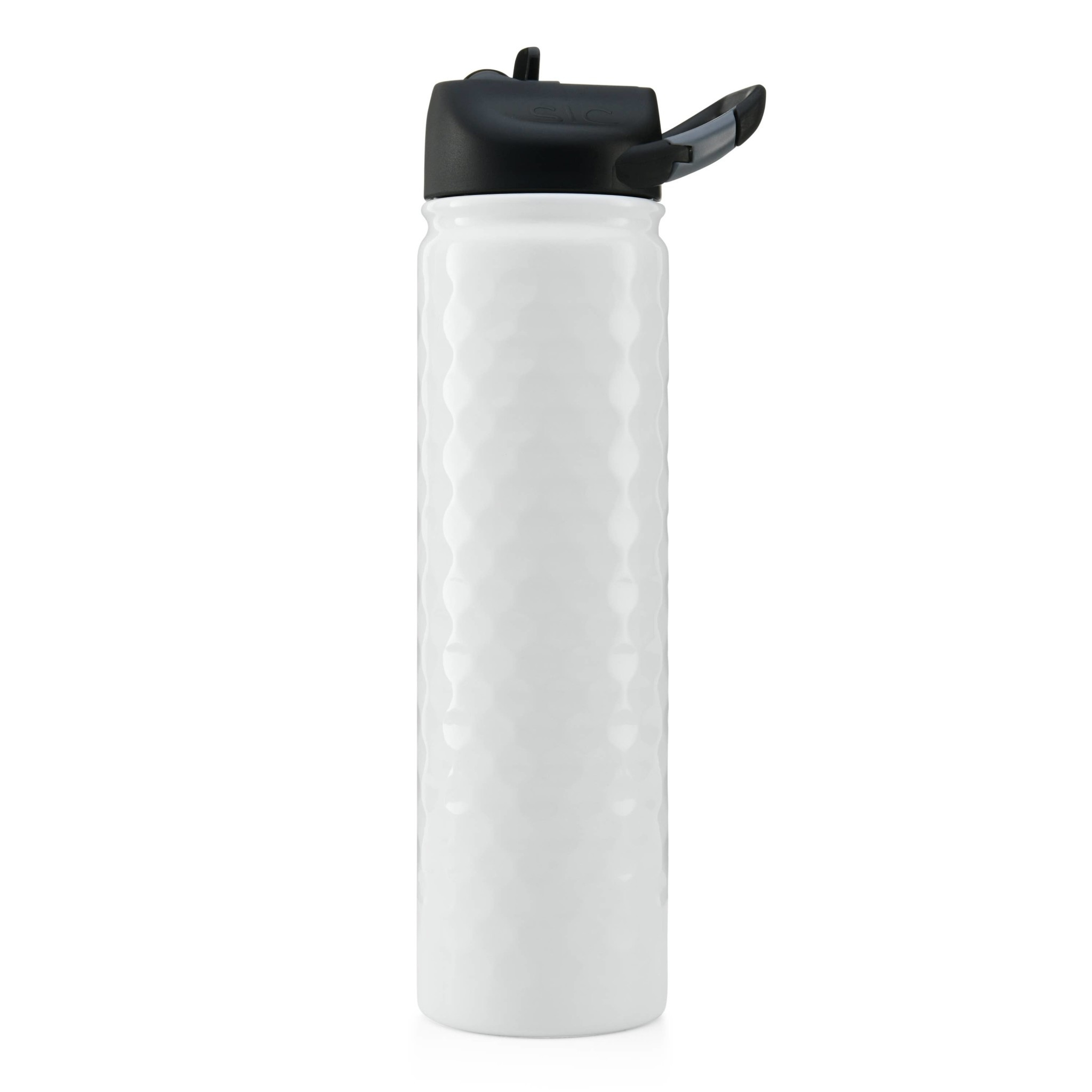 SIC 27 oz Dimpled Golf Bottle, Stainless Steel, SIC