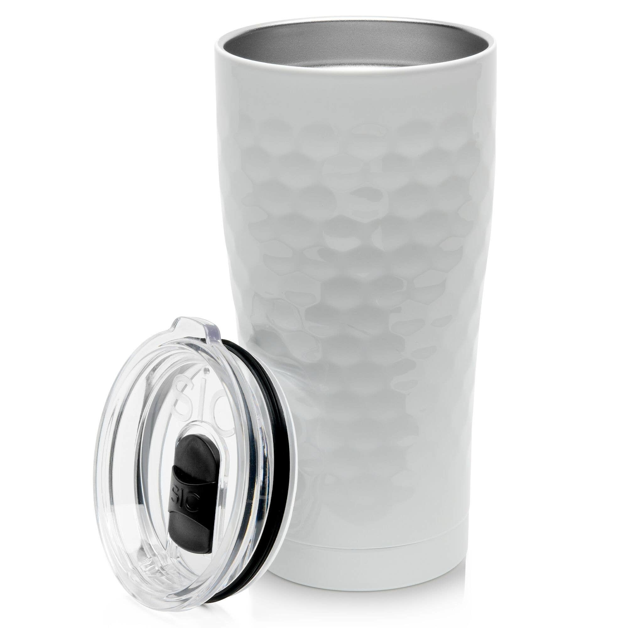 SIC 20 oz Dimpled Golf Tumbler, Stainless Steel, SIC