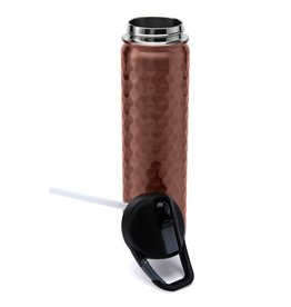 SIC 27 oz Hammered Copper Bottle, Stainless Steel, SIC