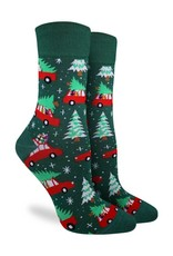 womens christmas tree socks