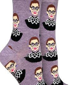ruth bader ginsburg ladies sock