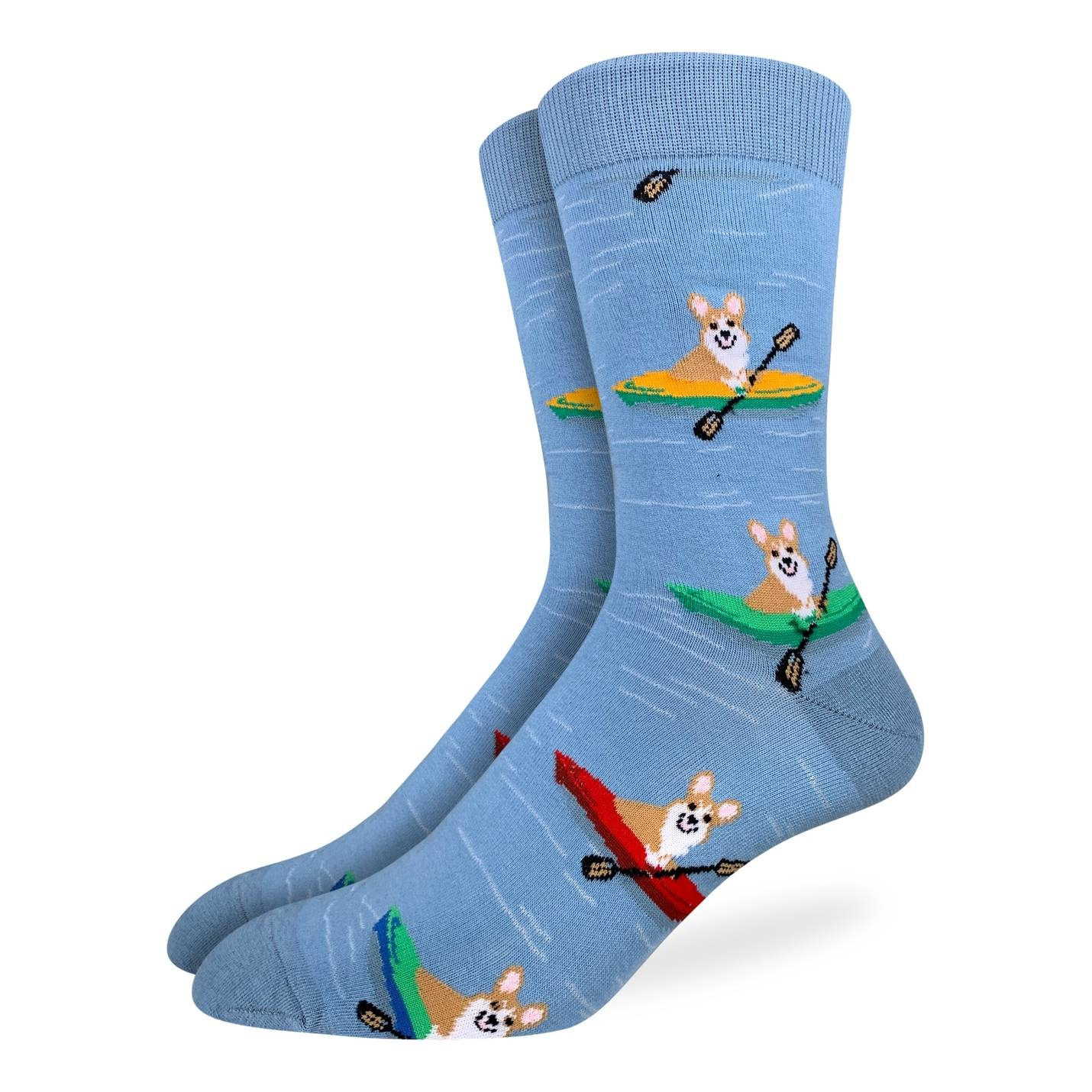 Good Luck Sock CORGI KAYAKING GLS