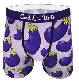 Good Luck Sock EGGPLANTS MENS GOOD LUCK UNDIES