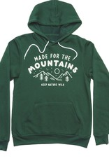 keep nature wild Made for the Mountains Unisex Hoodie - Forest