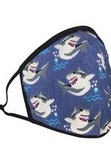 Good luck mask - sharks
