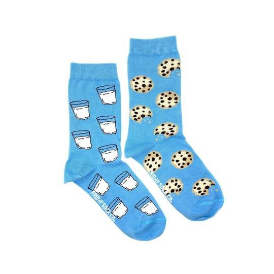 Friday Womens Socks Milk & Cookies 5-10