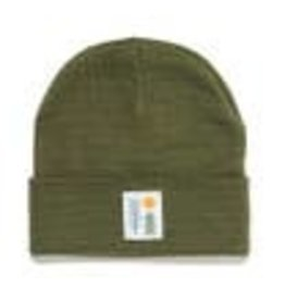evergreen cuffed beanie knw