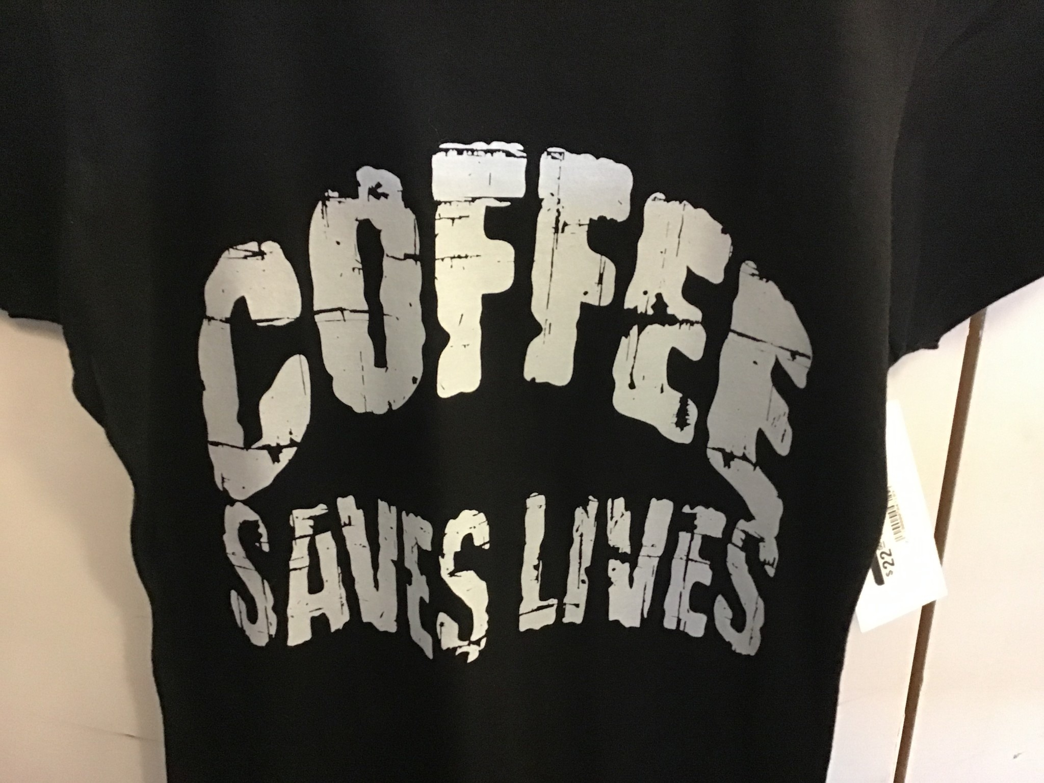 Westbound Clothing Company Coffee Saves Lives T-Shirt