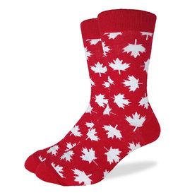 Good Luck Sock canada maple leaf mens gls