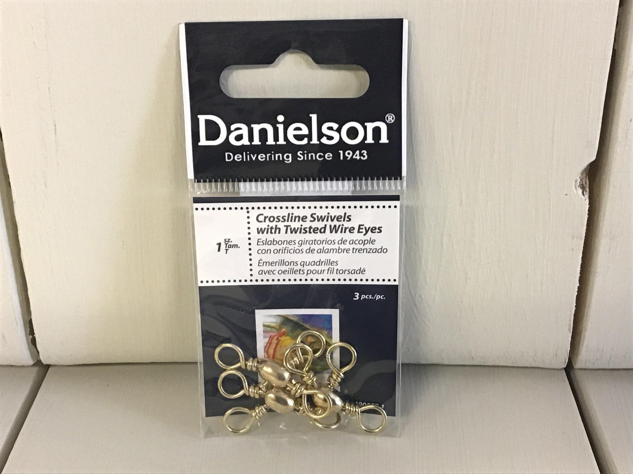 Danielson Crossline Swivels: Size 1, Danielson