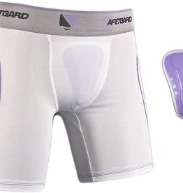 SafeTGard Lady Elite Sliding Shorts with Pelvic Protector
