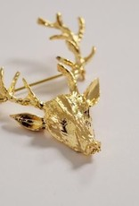 Beck & Boosh Beck + Boosh - Gold Deer Brooch