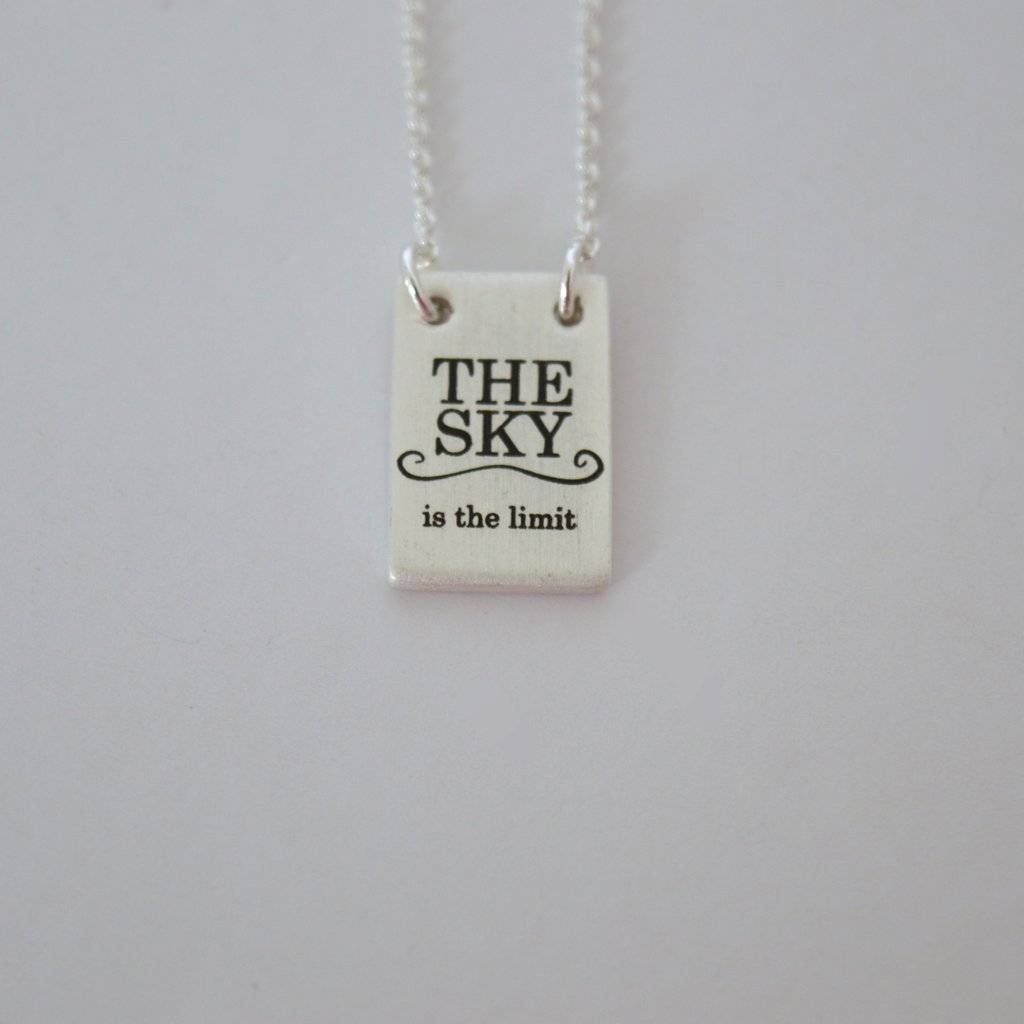 Beck & Boosh Beck + Boosh - Silver The Sky is the Limit Necklace