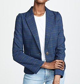 BB Dakota BB Dakota - Blue Plaid Blazer 'Hold Your Horses'