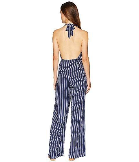 61fa756209e ... JACK by BB Dakota JACK - Backless Blue White Stripe Jumpsuit  All The  Way ...