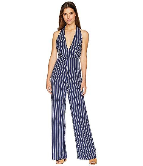062606eddd7 JACK by BB Dakota JACK - Backless Blue White Stripe Jumpsuit  All The Way  ...