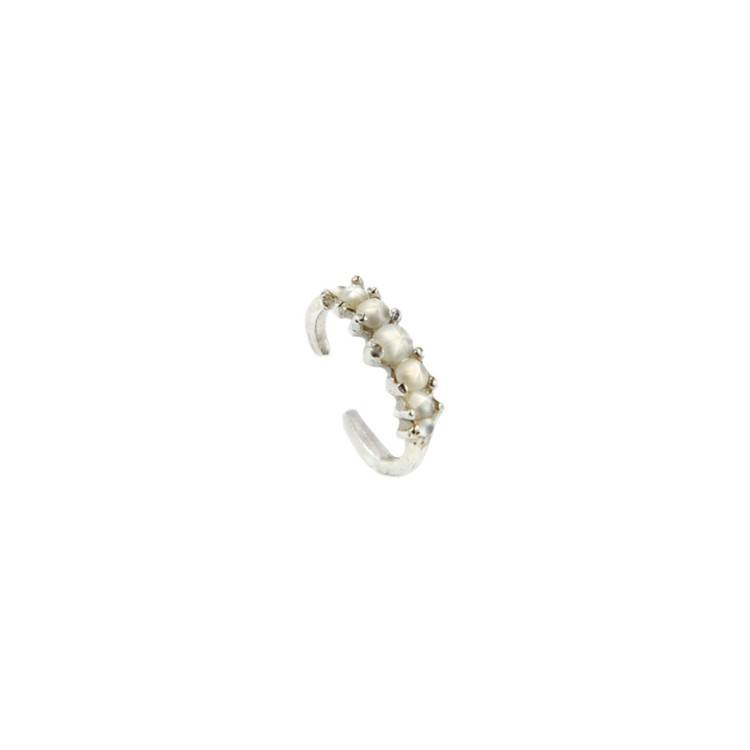 Laurie Fleming Current Ear Cuff - SLV