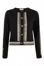 WYLDR WYLDR - Black Sequin Detailed Jacket