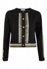 WYLDR WYLDR - Black Sequin Detailed Jacket
