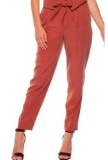 DEX Black Tape - Burnt Orange Trouser W/Foldover Waistband and Self-Tie