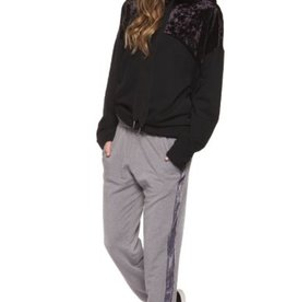 DEX DEX - Pull-on Sweatpants W/ Side Detail