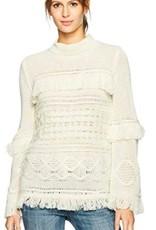 Jack - Oatmeal Knit Sweater w/ Fringe