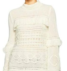 Jack - Oatmeal Knit Sweater w/ Fringe